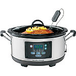 Hamilton Beach Set & Forget® 6-Quart Programmable Slow Cooker 39.00