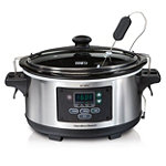 Hamilton Beach Set & Forget® 6-Quart Programmable Slow Cooker 52.99