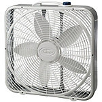 Lasko 20' Premium Box Fan with Wind Ring