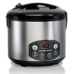 Hamilton Beach Digital Simplicity™ Deluxe Rice Cooker/Steamer 49.99