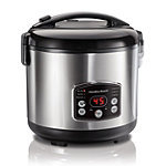 Hamilton Beach 14-Cup Digital Simplicity Rice Cooker and Steamer