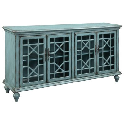 Coast to Coast Accents Antique Blue Crendenza