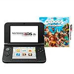 Nintendo 3DS XL Console with Croods Game and Starter Kit 199.99
