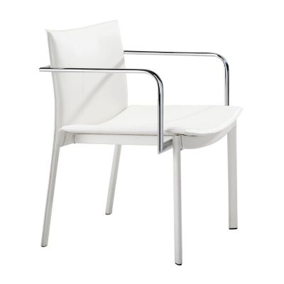 Zuo Modern White Gekko Conference Chairs Set of 2