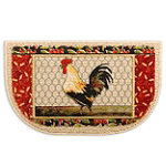 Mohawk Rooster's Perch 18' x 30' Kitchen Rug 7.95