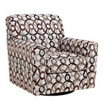 Berkline Carline Swivel Accent Chair 399.00