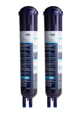 Whirlpool Refrigerator Water Filter - In The Grille Fast-Fill Push Button (2 Pack)