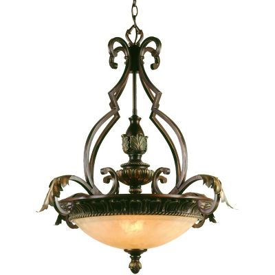 Elements Golden Glow Provencal Pendant Light