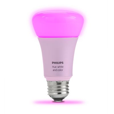 Philips Hue White and Color Ambiance A19 Bulb