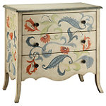 Stein World Floral Chest 3-Drawer No price available.