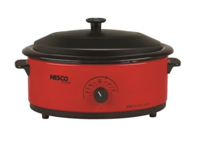 Nesco 6 Quart Red Roaster Oven