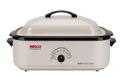 Nesco 18 Quart Ivory Roaster Oven