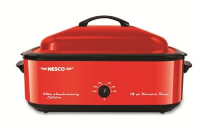 Nesco 18 Quart Red Roaster Oven