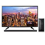 "LG 49"" 4K Ultra HD webOS 3.0 Smart TV with $100 Savings on 4.1-Channel Smart Soundbar and Wireless Subwoofer"