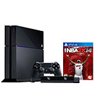 Sony PlayStation®4 500GB System with NBA 2K14 Game and 3-Month PlayStation Plus Card No price available.