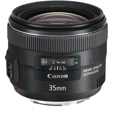 Canon EF 35mm f/2 IS USM Wide Angle Lens
