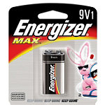 Energizer 9 Volt Alkaline MAX® Battery No price available.