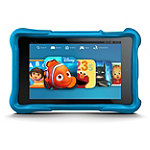 Amazon 6' 8GB Fire HD Kids Edition Tablet with Blue Case