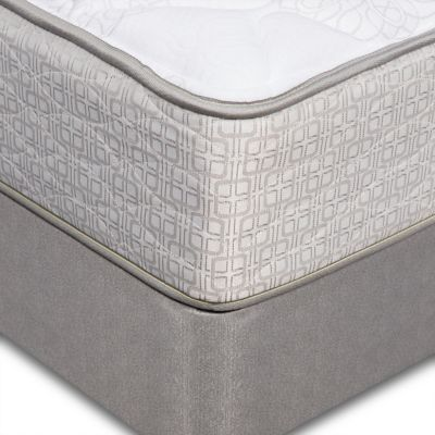 Serta Twin Sertapedic® Liverpool II Plush Mattress (Foundation Sold Separately)