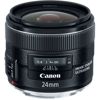 Canon EF 24mm f/2.8 IS USM Ultra Wide Angle Lens