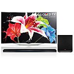 LG 55' 3D Curved OLED Smart HDTV with FREE Soundbar and Wireless Subwoofer 2999.99