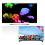 LG 55' 4K Ultra HD 3D webOS OLED Smart TV with FREE 43' 1080p HDTV