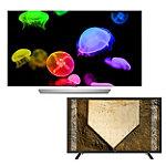 LG 55' 4K Ultra HD 3D webOS OLED Smart TV with FREE 43' 1080p LED HDTV