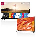 LG 55' 3D LED WebOS Smart HDTV with FREE 32' LED HDTV 1299.99