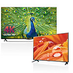 LG 55' 4K Ultra HD 3D WebOS Smart TV with FREE 32' LED HDTV 1799.99