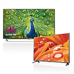 LG 55' 4K Ultra HD 3D Smart TV with FREE 32' LED HDTV 1999.99