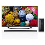 LG 55' 4K Ultra HD webOS Smart TV with Soundbar and Wireless Subwoofer 1399.99