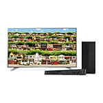 """LG 55"""" 4K Ultra HD webOS 3.0 Smart TV with FREE 2.1 Channel Soundbar and Wireless Subwoofer"""