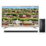 "LG 55"" 4K Ultra HD webOS 3.0 Smart TV with $100 Savings on 4.1-Channel Smart Soundbar and Wireless Subwoofer"