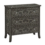Coast to Coast Elegant Black Chest 379.00