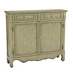 Coast to Coast Green Cupboard Accent Chest No price available.