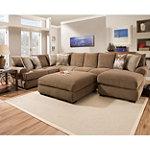 Corinthian Wynn Left-Arm Corner Sofa No price available.