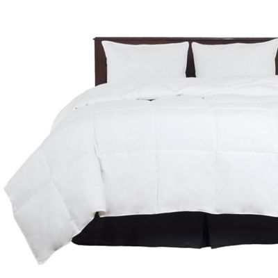 Lavish Home 100% Cotton Feather Down Twin Comforter