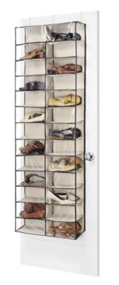 Whitmor Over The Door Shoe Shelves 26 Pair