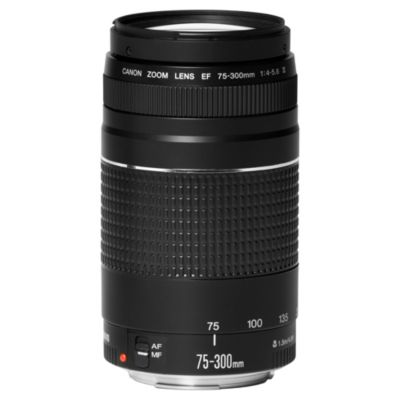Canon 75-300mm f/4-5.6 III Telephoto Zoom Lens
