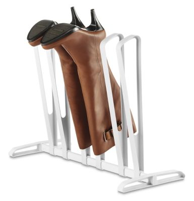 Whitmor White 3 Pair Boot Rack