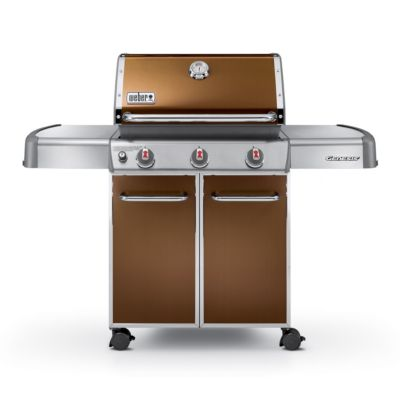 Weber 38,000 BTU Genesis® E-310™ Copper Outdoor Propane Gas Grill