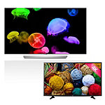 LG 65' 4K Ultra HD 3D webOS OLED Smart TV with FREE 43' 4K Ultra HD webOS Smart TV