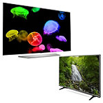 LG 65' 4K Ultra HD 3D webOS OLED Smart TV with FREE 55' 4K Ultra HD webOS 3.0 Smart TV