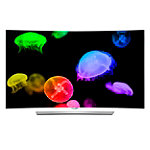LG 65' Curved 4K Ultra HD 3D webOS  OLED Smart TV