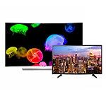 "LG 65' Curved 4K Ultra HD 3D webOS OLED Smart TV with FREE 49"" 4K Ultra HD webOS Smart TV"
