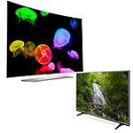 LG 65' Curved 4K Ultra HD 3D webOS OLED Smart TV with FREE 55' 4K Ultra HD webOS 3.0 Smart TV