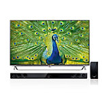 LG 65' 4K Ultra High Definition 3D Smart TV with FREE Soundbar and Subwoofer 3299.99