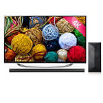 LG 65' 4K Ultra HD 3D webOS Smart TV with Soundbar Speaker and Wireless Subwoofer 2999.99