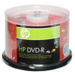HP DVD-R 50-Pack Spindle 12.95