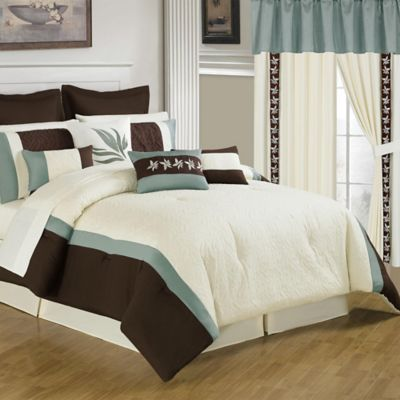 Lavish Home 25-Piece Anna King Bedroom Set